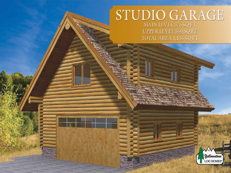 The 16 best log cabin garage plans architecture plans for Cabin garage plans